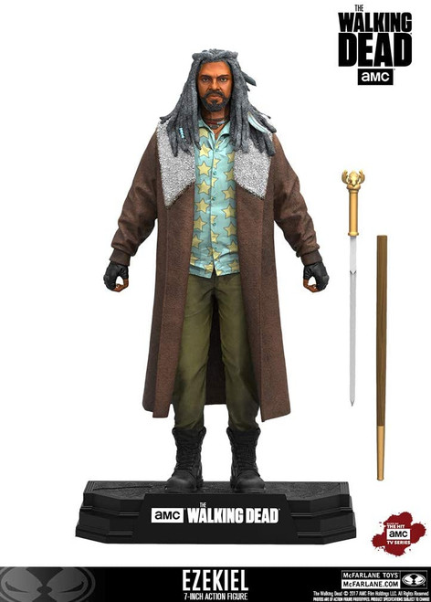 Walking Dead Tv 2017 Series 1 Ezekiel Action Figure