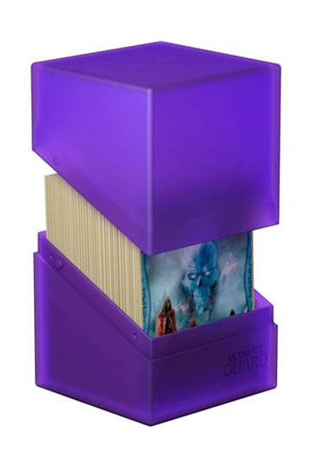Ultimate Guard Boulder Deck Case 100+ Standard Size Amethyst