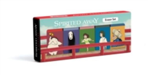 Spirited Away Eraser Set