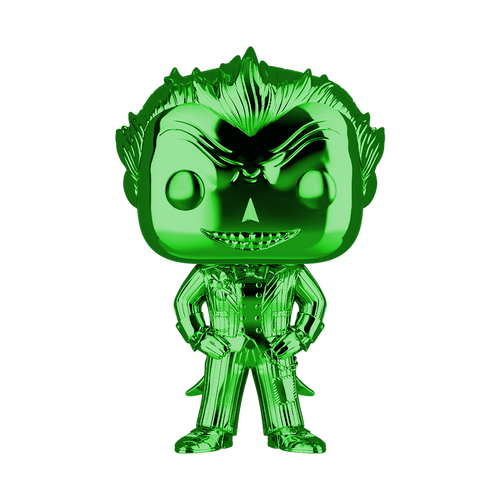 Funko POP! Vinyl: DC - The Joker (Green Chrome) #53