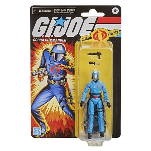 G.I Joe Retro Collection Cobra Commander Action Figure