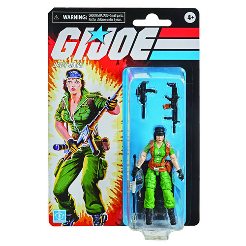 G.I Joe Retro Collection Lady Jaye Action Figure