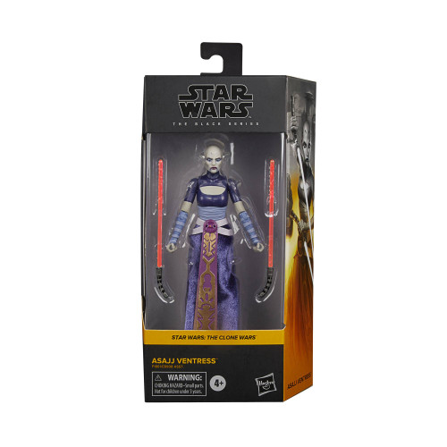 "Star Wars Black Series 6"" Asajj Ventress Action Figure"