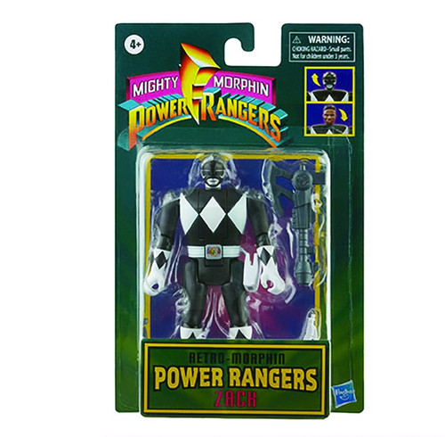 Power Rangers Retro-Morphin Black Ranger