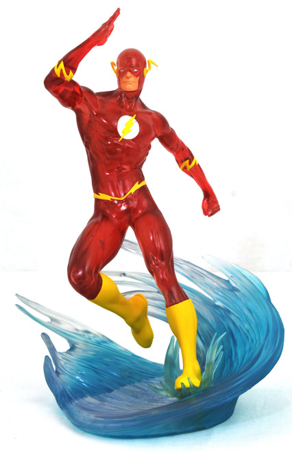 Sdcc 2019 Dc Gallery Speed Force Flash Pvc Statue