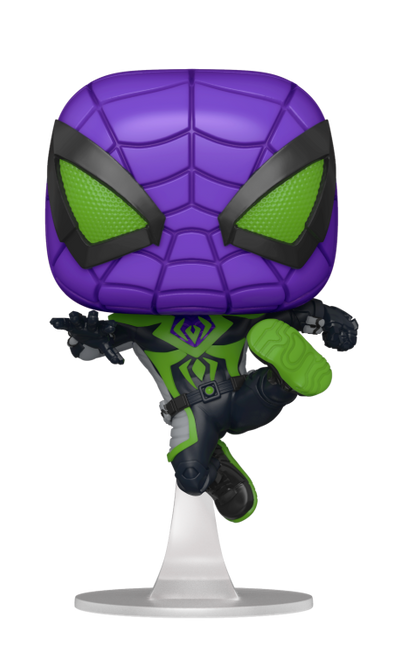 Funko POP! Vinyl: Miles Morales - Purple Reign Suit (Metallic) #839