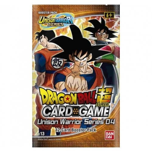 Dragon Ball Super CG: Booster Pack UW04 (B13): Unison Warrior Series - Supreme Rivalry