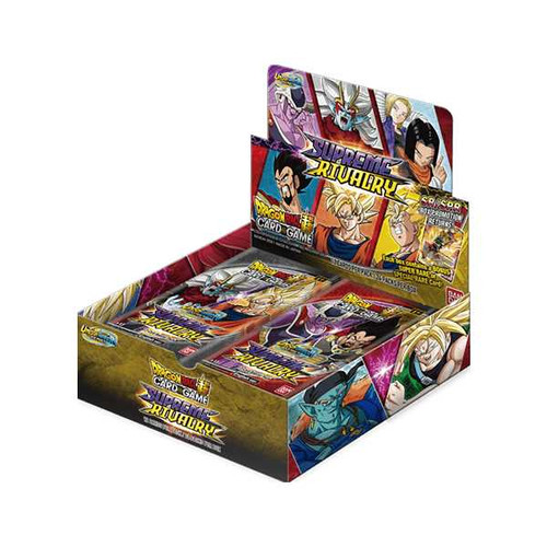 (Sealed Box of 24) Dragon Ball Super CG: Booster Pack UW04 (B13): Unison Warrior Series - Supreme Rivalry