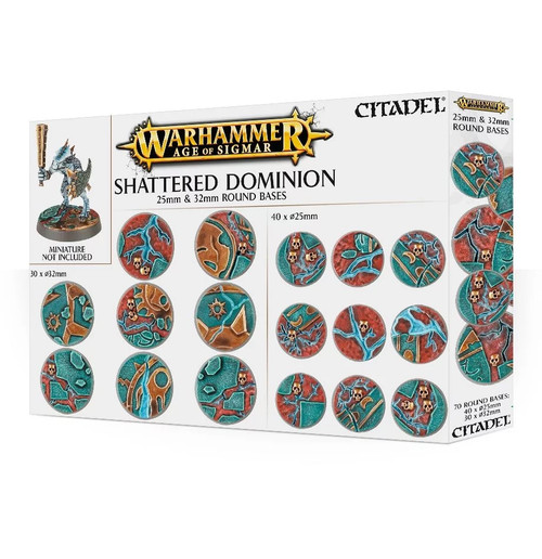 Age of Sigmar: Shattered Dominion: 25 & 32mm Round