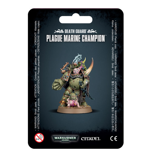 Death Guard Plague Marine Champion (old packaging)