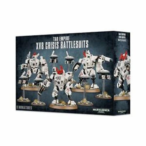 Tau Empire XV8 Crisis Battlesuits