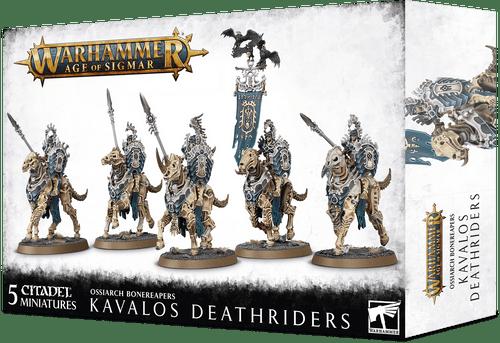 Ossiarch Bonereapers Kavalos Deathriders