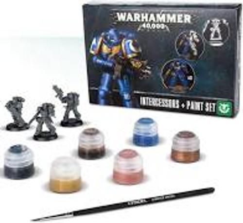 Space Marine Intercessors Paint Set