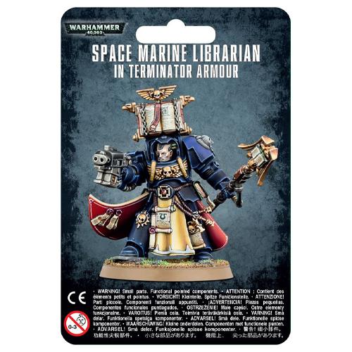 Space Marine Librarian In Terminator Armour