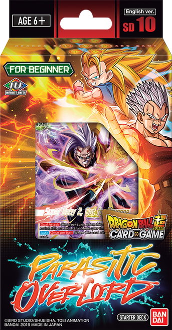Dragon Ball Super Cg: Starter Deck: Parasitic Overlord Sd10