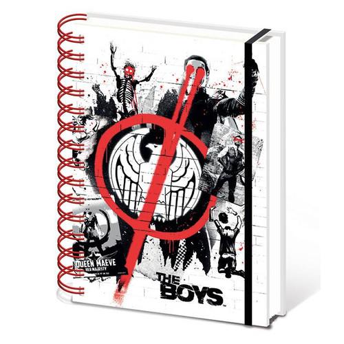 The Boys Homelander Stencil A5 Notebook