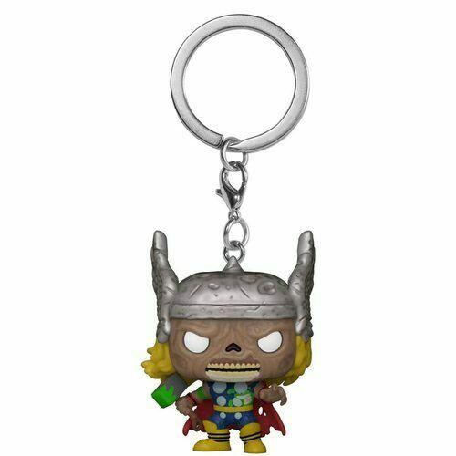 Pocket Pop Marvel Zombies Thor Keychain