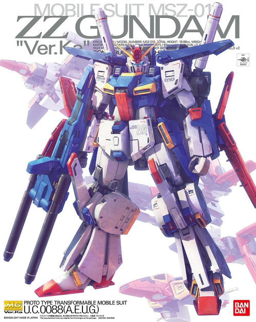 MG ZZ Gundam Ver. Ka