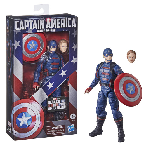 Marvel Legends 6 Inch Captain America John F. Walker Action Figure
