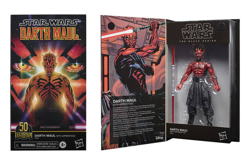 "Star Wars Black Series 6"" Darth Maul (Comic) Action Figure"