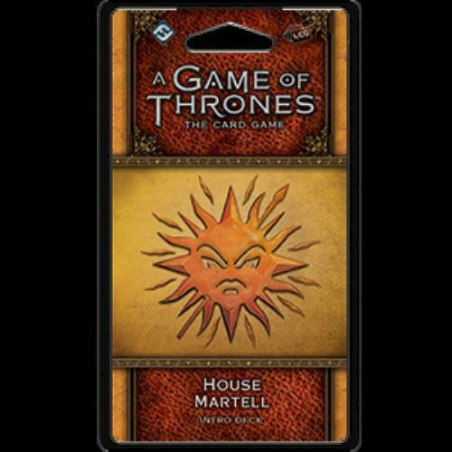 House Martell Intro Deck - Game Of Thrones