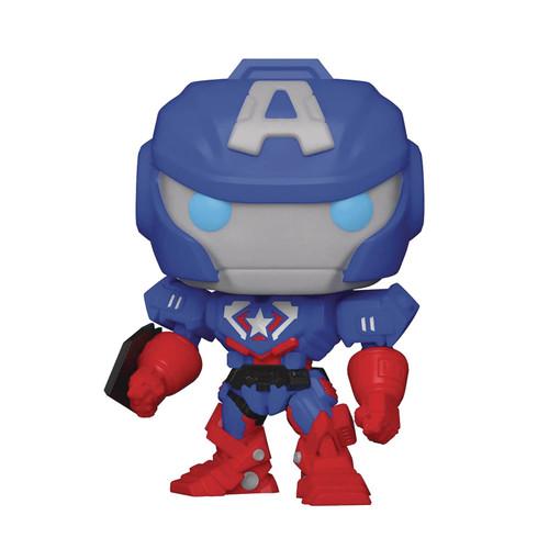 Funko POP! Vinyl: Marvel - Mech Captain America #829