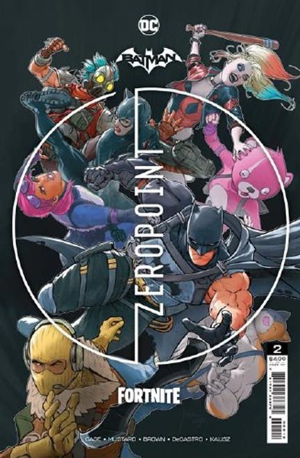 Batman Fortnite Zero Point #2 - 2Nd Printing