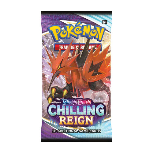 Pokemon TCG: Sword & Shield 6 Chilling Reign Booster
