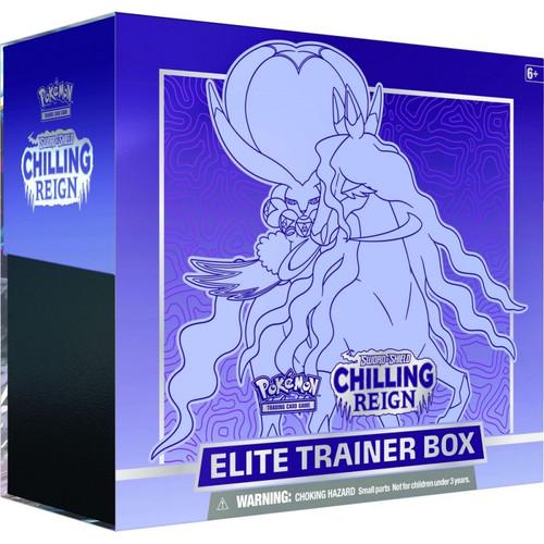 Pokemon TCG: Sword & Shield 6 Chilling Reign Elite Trainer Box