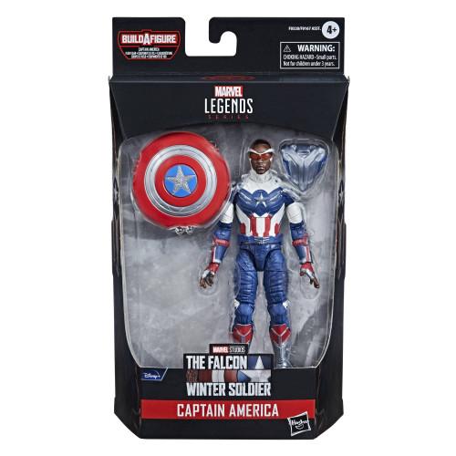 """Marvel Legends Disney Plus 6"""" Captain America Action Figure"""
