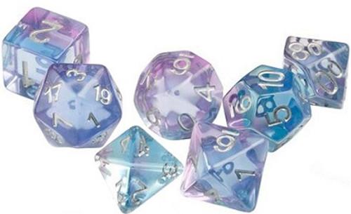 Ocean Blue Polyhedral Dice Set - Sirius Dice