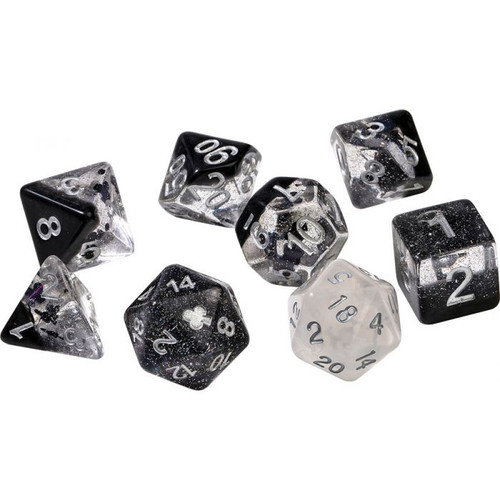 Clubs Polyhedral Dice Set - Sirius Dice