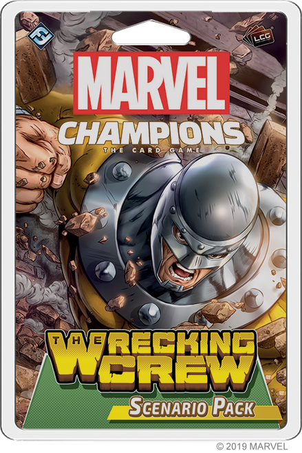 Marvel Champions: The Wrecking Crew Scenario Pack