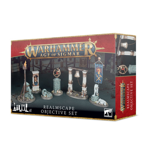 Age Of Sigmar: Realmscape Objective Set - Pre-Order, released on 03-Jul-2021