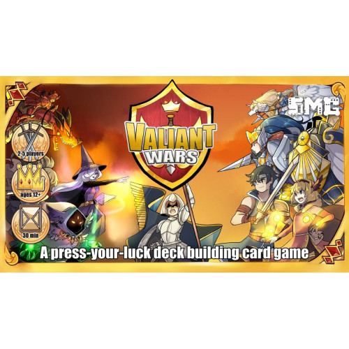 Valiant Wars Card Game