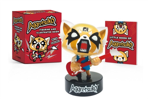 Aggretsuko Figurine and Illustrated Book : With Sound!