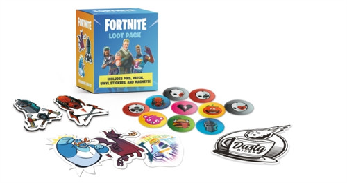 FORTNITE (Official) Loot Pack : Includes Pins, Patch, Vinyl Stickers, and Magnets!
