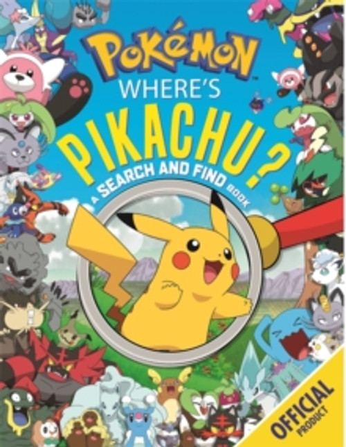 Where's Pikachu? A Search and Find Book : Official Pokemon