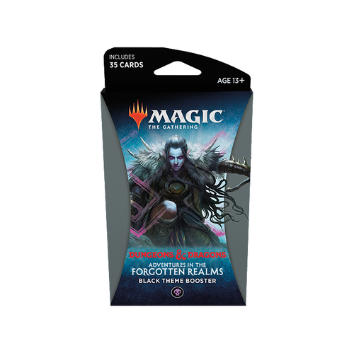 MTG: Adventures in the Forgotten Realms Black Theme Booster (Pre-order released 23/07/21)