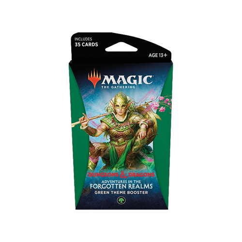 MTG: Adventures in the Forgotten Realms Green Theme Booster (Pre-order released 23/07/21)