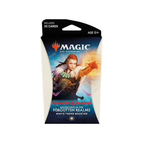 MTG: Adventures in the Forgotten Realms White Theme Booster (Pre-order released 23/07/21)
