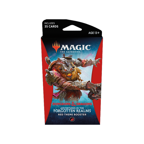MTG: Adventures in the Forgotten Realms Red Theme Booster (Pre-order released 23/07/21)