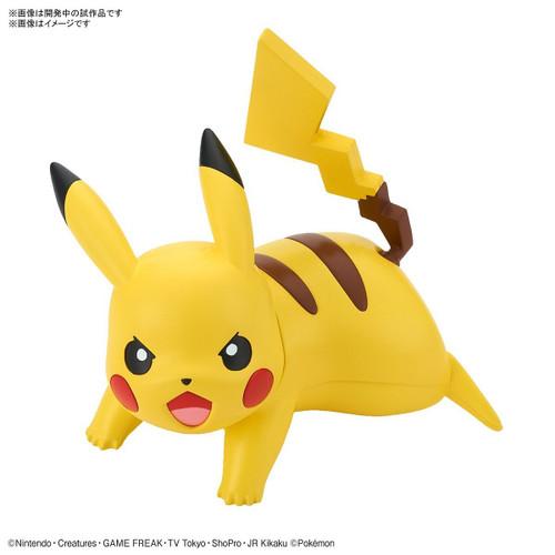 Pokemon Plastic Model Collection Quick !! 03 Pikachu Battle Pose