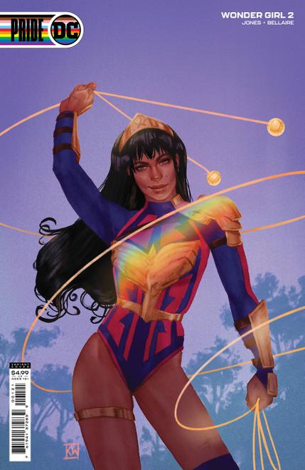 Wonder Girl #2 Cvr B Pride Wada
