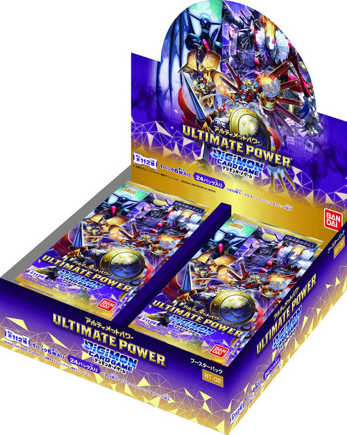 (Japanese) Digimon Card Game Ultimate Power Booster (Box of 24 Booster packs)