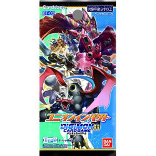 (Japanese) Digimon Card Game Union Impact (BT-03)
