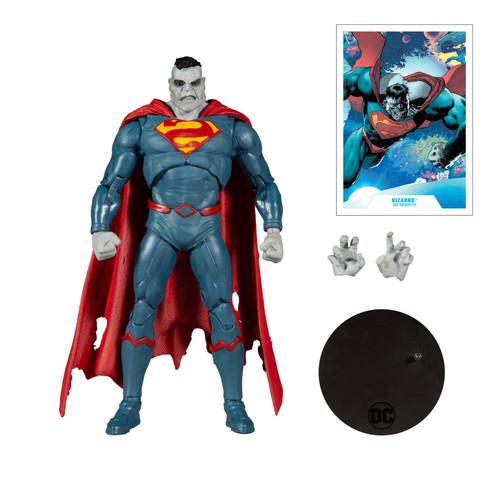 """DC Multiverse 7"""" Scale Superman Bizarro Action Figure"""