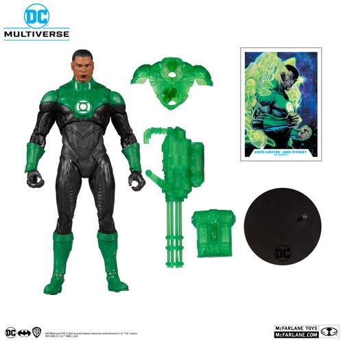 "DC Multiverse 7"" Scale John Stewart Green Lantern"