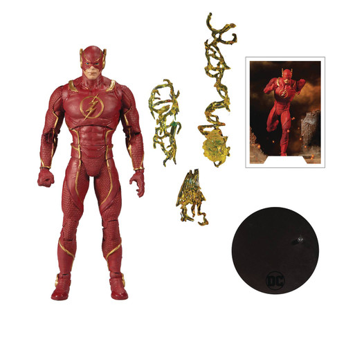 """DC Multiverse 7"""" Scale Wv3 Injustice 2 Flash Action Figure"""