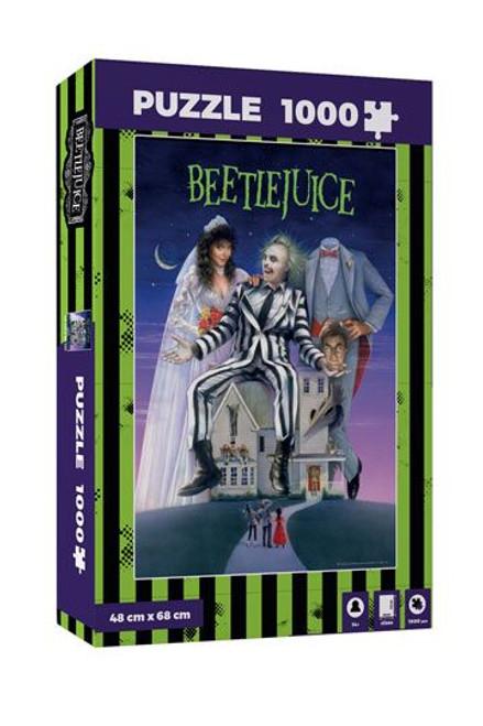 Beetlejuice Jigsaw Puzzle Movie Poster
